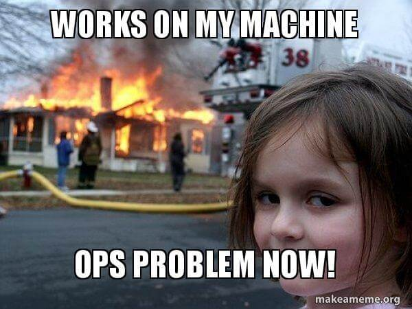Works on my machine ... OPS problem now